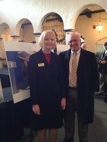 JJC President Dr. Deb Daniels and Senator Pat McGuire