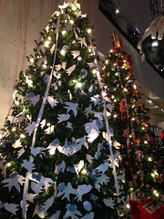 """Peace Tree""  IMG_1525 (kluehirschSnowpine) Tags: christmas chicago contrast lights peace decoration christmastrees doves scienceandindustrymuseum"