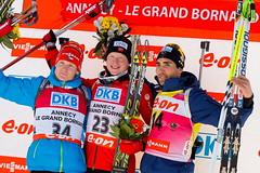Men Sprint - WC Biathlon Annecy-Le Grand-Bornand 2013