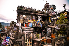 idaho city (ma vie en rouge) Tags: junk roadtrip idaho antiques clutter idahocity
