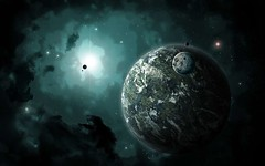 Dark-Universe (GurshobitBrar) Tags: blue red galaxy planets newworlds