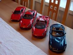 New Models. (ChristopherW45) Tags: spider model ferrari sls amg roadster 118 f12 458 348gtb