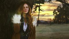 Tiffany (jac brody) Tags: park atlanta sunset cold tree girl fashion outside model nikon pretty nashville dusk hiking walk tennessee peaceful redhair nikond7000 texturebybrookeshaden
