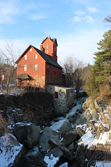 Chittenden Mill (The Old Red Mill), Jericho, VT (pegase1972) Tags: usa us vermont unitedstates newengland mills vt tatsunis