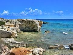 Towards Staffa's Beach. (girodiboa1) Tags: sea italy sun beach italia mare wind sole otranto salento towards spiaggia lecce salentu vento sule verso staffa ientu girodiboa1