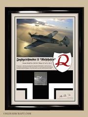 Focke Wulf Fw 190 D-9 of JG 2 Bodenplatte Relic Display by Ron Cole (ColesAircraft) Tags: art print cole display aircraft aviation wwii ron ww2 relic fw190 luftwaffe richthofen fw190d roncole bodenplatte jg2