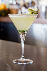 The Dill Pickle (Oliver & Bonacini) Tags: toronto bar dill recipe restaurant spring martini canoe cranberry ob lime cocktails gin mixology dillons grandmarnier