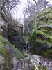 "Scouts and parents climb Ingleborough March 2014.  Picture of climb through Trow Gill. • <a style=""font-size:0.8em;"" href=""http://www.flickr.com/photos/107034871@N02/13412122653/"" target=""_blank"">View on Flickr</a>"