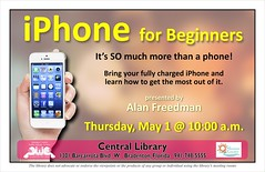 iPhone for Beginners @ the Central Library (Manatee County Public Library) Tags: county florida library libraries manatee govt manateecounty manateecountypubliclibrary manateecountypubliclibrarysystem manateelibrary manateecountylibrary librarycalendar manateecentrallibrary mcpls manateecountygovernment wwwmymanateeorg