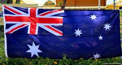 Australia Day 2014 - Australian Flag, Great Lakes Museum, Tuncurry, NSW (Black Diamond Images) Tags: museum australia greatlakes nsw australiaday nationalism tuncurry australianflag 26thjanuary midnorthcoast greatlakesmuseum australiatoday greatlakesnsw australiaday2014 26thjanuary2014