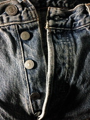 Levi's 501 Button Fly Blue Jeans (Blue Rave) Tags: jeans sexy thecolorblue bluejeans meninjeans buttonfly buttonflyjeans blue iphonephotography iphoneography color colour abstract denim
