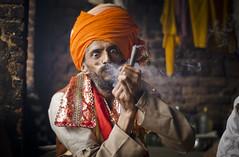 Pashupatinath sadhu (PawelBienkowski) Tags: nepal kathmandu hinduism sadhu pashupatinath shivaratri sadhus