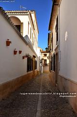 Calles de Ronda (Mlaga, Espaa) (lugaresadescubrir) Tags: street espaa architecture calle spain arquitectura espanha andalucia rua espagne malaga spanien contremo spanja contremolad