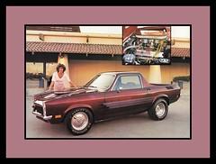 "'72 Chevrolet Vega Show Car, 1983 (Cosmo's ""ART"" Gallery) Tags: chevrolet truck pickup babe chevy 1983 1972 vega customcar showcar"