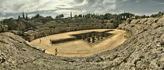 Italica. Santiponce (Sevilla) (jose de sp) Tags: italica sevilla santiponce anfiteatro roma andalucia spain