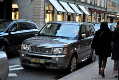 Land Rover Range Sport - France, diplomatic plate (Helvetics_VS) Tags: licenseplate france diplomaticplate qatar