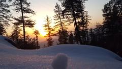 Sunset in Patriata New Muree Pakistan After Last Snow Fall in March. #Pakistan #Snow #Muree #Sunset #ChilL (awaismushtaq1) Tags: chill snow sunset muree pakistan