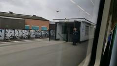 Bordesley Station - Way out (ell brown) Tags: bordesleystation bordesley birmingham westmidlands england unitedkingdom greatbritain bordesleymiddleway coventryrd camphill parliamentarystation birminghamcityvnewcastleunited mobile mobileshots huawei huaweip9 train londonmidland class172 wayout