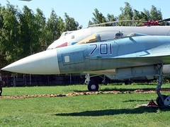 """Sukhoi Su-35 Flanker 5 • <a style=""""font-size:0.8em;"""" href=""""http://www.flickr.com/photos/81723459@N04/32776670892/"""" target=""""_blank"""">View on Flickr</a>"""