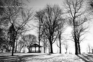 Lakeside Park Monodchrome