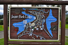 Jasper Park Lodge, Jasper National Park, Canada (leo_li's Photography) Tags: sign 艾伯塔省 jaspernationalpark alberta canada 加拿大 亞伯達省 canadianrockymountains rockymountains 洛磯山脈 parc national jasper 亞伯達 艾伯塔