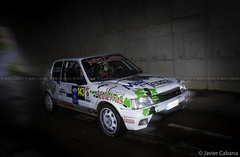 XXXIII Rali Noia 2017 (J. Cabana) Tags: rallye rally rali cars competition mirrorless bridge evil olympus micro four thirds micro43 omd em5 mark ii m zuiko digital 14150 456 galicia noia ralinoia 2017 coches automovilismo peugeot 205 gti