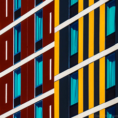 Minneapolis Geometry (David M Strom -- On and Off) Tags: minneapolis reflections architecture davidstrom minimal abstract