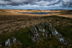 Middle Of Nowhere (evans.photo) Tags: lake water hills wilderness wales uplands secluded pontrhydfendigaid ceredigion llyngynon
