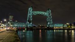 De Hef (R. Engelsman) Tags: architecture architectuur brug bridge hef dehef rotterdam rotjeknor 010 nederland netherlands nl canonnl night nacht
