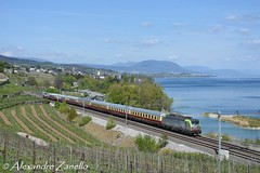 BLS: Re 475 404, Vaumarcus (CH) (Alexandre Zanello) Tags: ake tee rheingold eisenbahntouristik transeuropexpress siemens vectron re475 lac switzerland lake neuchâtel