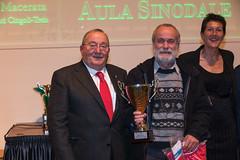 Sergio Domizi con Giuseppe Illuminati
