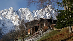 My birthplace (ab.130722jvkz) Tags: italy veneto alps easternalps dolomites snowfall