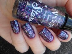 Ellen Gold - Catedral + L'apogée - Sirius (Barbara Nichols (Babi)) Tags: lapogée sirius glitter roxo purple purplenailpolish purplenails nails nailpolish naillacquer ellengold