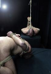 c-m duo 2 (shibarigarraf) Tags: shibari bondage kinbaku shibarigarraf male rope bound