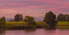 Autumn In The Valley. (williams.darrell53) Tags: landscape sunset river water reflection tree mountain mist sky cloud canon australia autumn valley darrell williams
