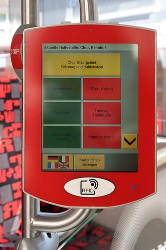 dr Bus vu Chur - RFID