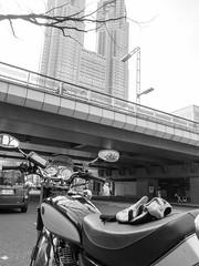 2017年3月20日 (atmo1966) Tags: digitalphotography blackandwhite canon canonpowershots90 tokyo shinjuku