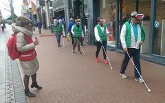 Virtual reality (stevefge) Tags: nijmegen street people candid line amusing nederlandvandaag reflectyourworld