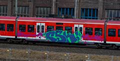 _DSC7713 (Under Color) Tags: hannover graffiti train db zug sbahn strain kunst art streetart subwayart