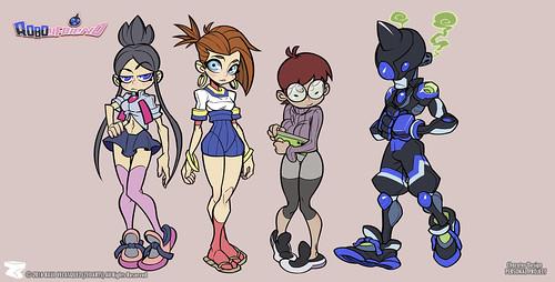 Character designer - ilustration 05 | RoboyFriend