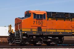 BNSF No. 7150 (jbp274) Tags: trains locomotive track rail bnsf burlingtonnorthernsantafe generalelectric ge es44