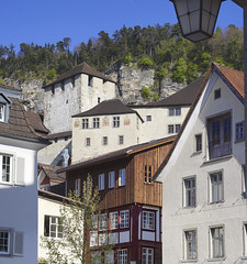 Feldkirch, mediaeval city in Austra (Hellebardius) Tags: feldkirch austria österreich oesterreich vorarlberg april springtime frühling