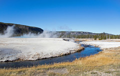 Black Sand Basin 2 (John Stankovich) Tags: wyoming yellowstone national park thermal hot springs old faithful forest mountains river usa jacksonhole yellowstonenationalpark
