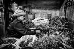 Local market (Daniel C Stocker) Tags: myanmar travel vacation blackandwhite sony rx100m3 rx100iii market local street
