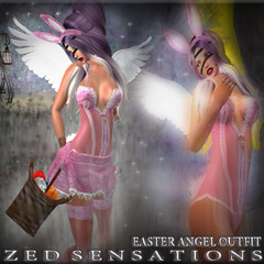 easter angel OUTFIT AD (Zed Sensations) Tags: evemesh fine vs fusion slink physique easter bunny lingerie outfit costume fitmesh roleplay sexy fantasy erotic holiday tonic skirt fitted mesh pulpy slim hourglass curvy zed sensations eve belleza maitreya tmp
