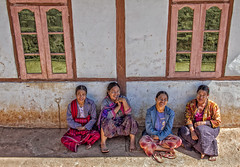 Sitting in the shade (bag_lady) Tags: palaung ethnic village tribal myanmar burma shanstate kalaw hilltribe ethnicminority culture tradition