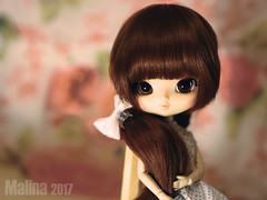 Big little girl (Malina (LaelP)) Tags: doll puppe muñeca poupée malina saga asian fashion pullip yeolume obitsu21 obitsu 21 full custom fc mikiyochii toy cute girl beautiful red brown hair chips eyes rewigged crobidoll