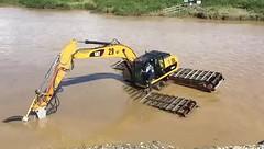 Alluvial Gold Mine dredging