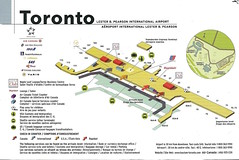 Air Canada YYZ diagram, 1999 (airbus777) Tags: aircanada 1999 airport torontopearson yyz ac map diagram
