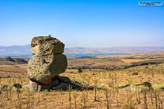 Lake View (zulkifaltin) Tags: türkiye kırşehir kaman manzara landscape hirfanlı göl baraj water su dağ tepe stone taş kaya
